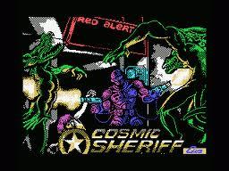 Cosmic Sheriff per MSX
