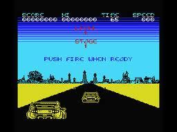 Crazy Cars per MSX
