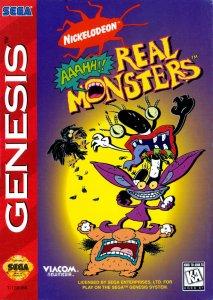 Aaahh!!! Real Monsters per Sega Mega Drive