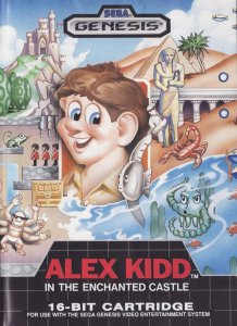 Alex Kidd in the Enchanted Castle per Sega Mega Drive