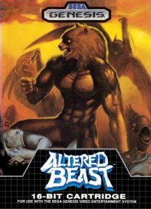Altered Beast per Sega Mega Drive