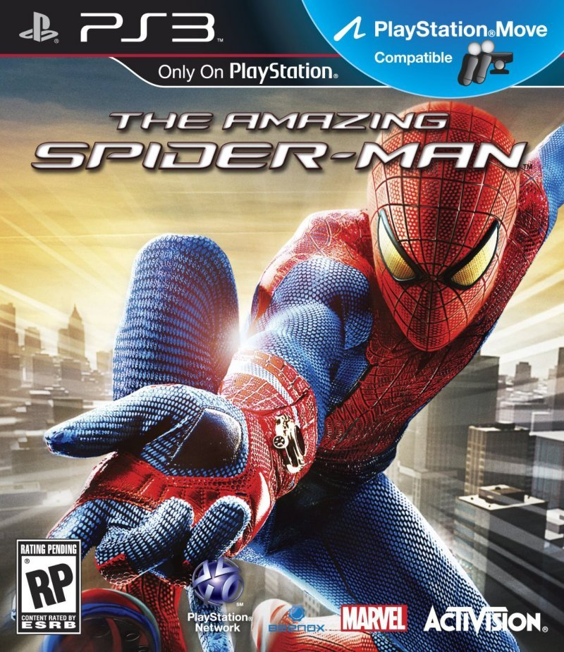 The Amazing Spider-Man supporta PlayStation Move