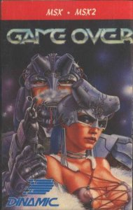 Game Over per MSX