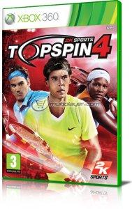 Top Spin 4 per Xbox 360