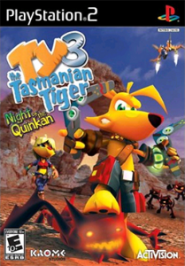 Ty the Tasmanian Tiger 3: Night of the Quinkan per PlayStation 2