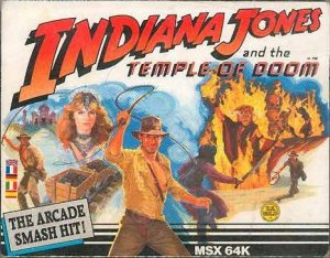 Indiana Jones and the Temple of Doom per MSX