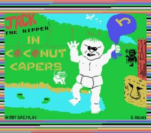 Jack the Nipper 2: In Coconut Capers per MSX