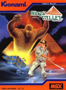 King's Valley per MSX
