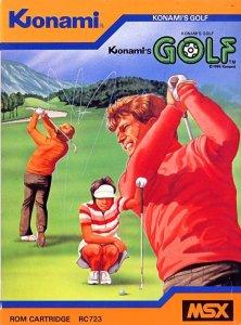 Konami's Golf per MSX