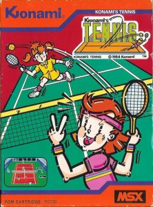 Konami's Tennis per MSX
