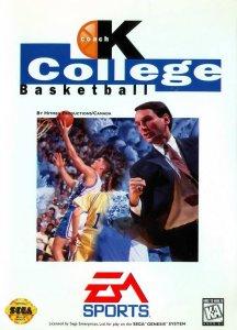 Coach K College Basketball per Sega Mega Drive
