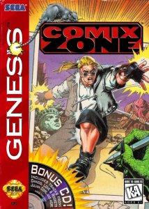 Comix Zone per Sega Mega Drive