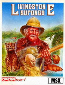 Livingstone Supongo 2 per MSX