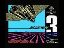 Mach 3 per MSX