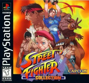 Street Fighter Collection per PlayStation