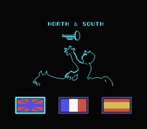 North & South per MSX