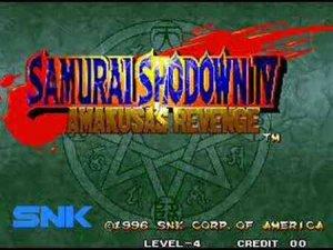 Samurai Shodown IV: Amakusa's Revenge per Nintendo Wii