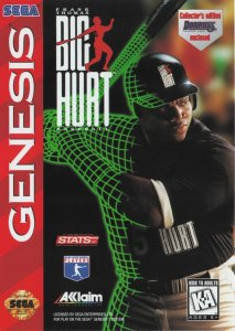Frank Thomas Big Hurt Baseball per Sega Mega Drive
