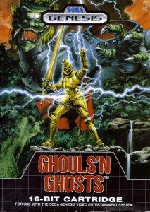 Ghouls'n'Ghosts per Sega Mega Drive