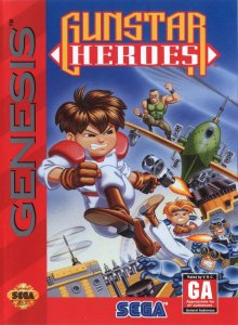 Gunstar Heroes per Sega Mega Drive
