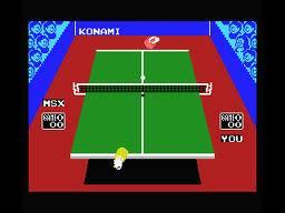 Ping Pong per MSX