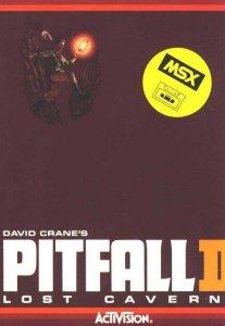 Pitfall II: Lost Caverns per MSX