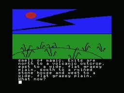 Red Moon per MSX