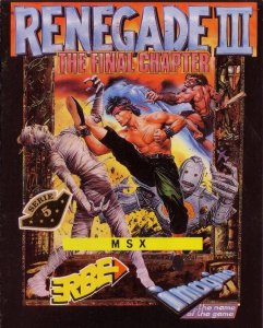 Renegade III: The Final Chapter per MSX
