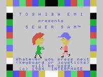 Sewer Sam per MSX