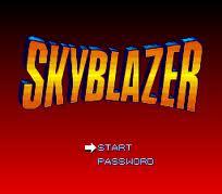 Sky Blazer per MSX