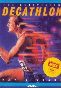 The Activision Decathlon per MSX