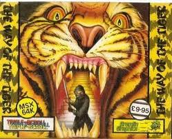 The Way of the Tiger per MSX