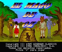 The Wizard of Oz per MSX