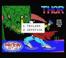 Thor per MSX