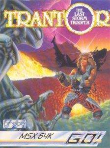 Trantor the Last Storm Trooper per MSX