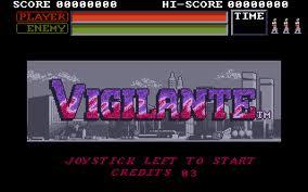 Vigilante per MSX