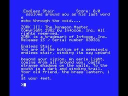 Zork III: The Dungeon Master per MSX