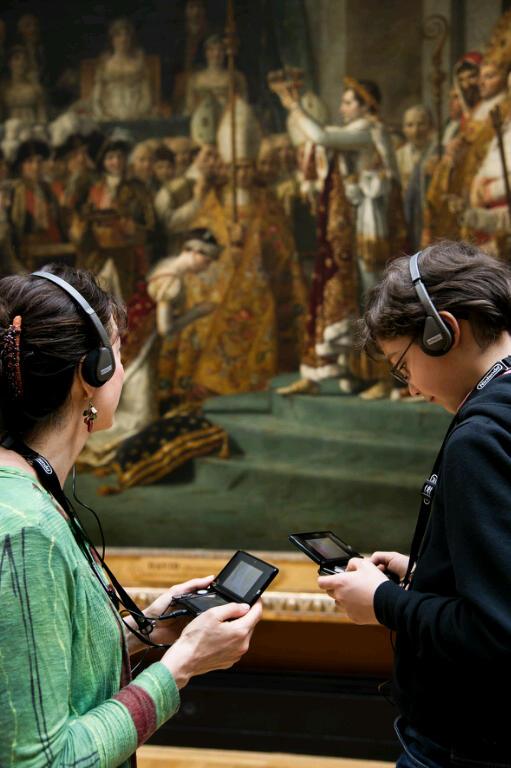 Nintendo 3DS fa da guida per il Louvre