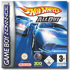 Hot Wheels All Out per Game Boy Advance