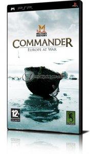 Military History Commander: Europe at War per PlayStation Portable