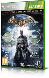 Batman: Arkham Asylum per Xbox 360