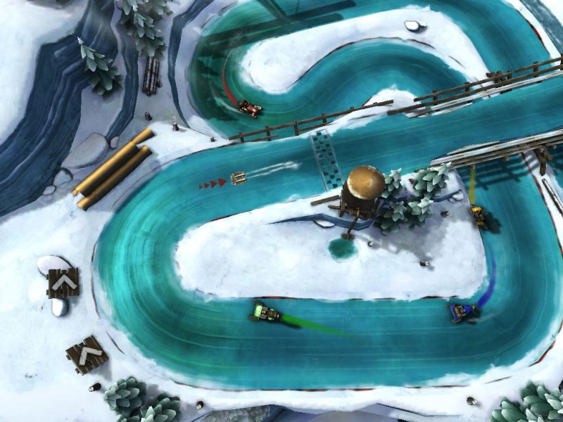 Slingshot Racing disponibile ora anche su Google Play