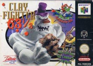 ClayFighter 63 1/3 per Nintendo 64