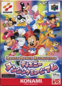 Dance Dance Revolution featuring Disney Characters per Nintendo 64