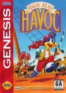 High Seas Havoc per Sega Mega Drive