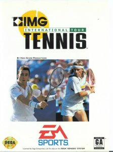 IMG International Tour Tennis per Sega Mega Drive