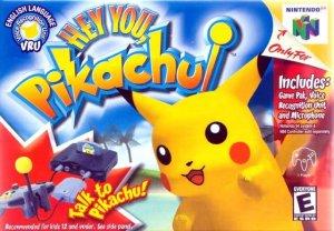 Hey You, Pikachu! per Nintendo 64