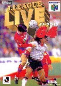 J-League Live 64 per Nintendo 64