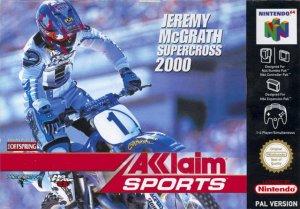 Jeremy McGrath Supercross 2000 per Nintendo 64