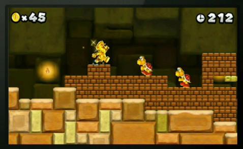 Mario e tante, tante monete